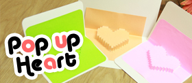 Pop up Heart